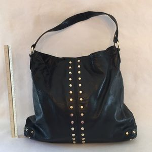 1ed1cf1d0239 MICHAEL Michael Kors Bags | Astor Studded Black Leather Bag | Poshmark